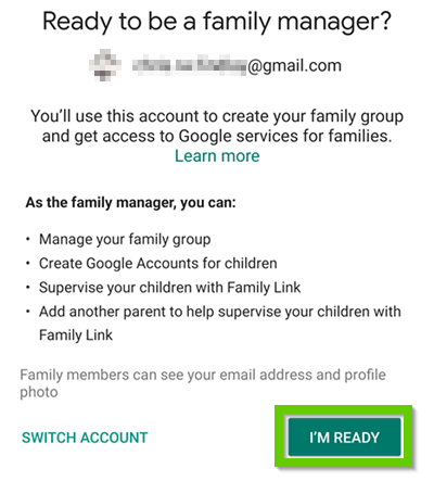 Ready to be a family manager?