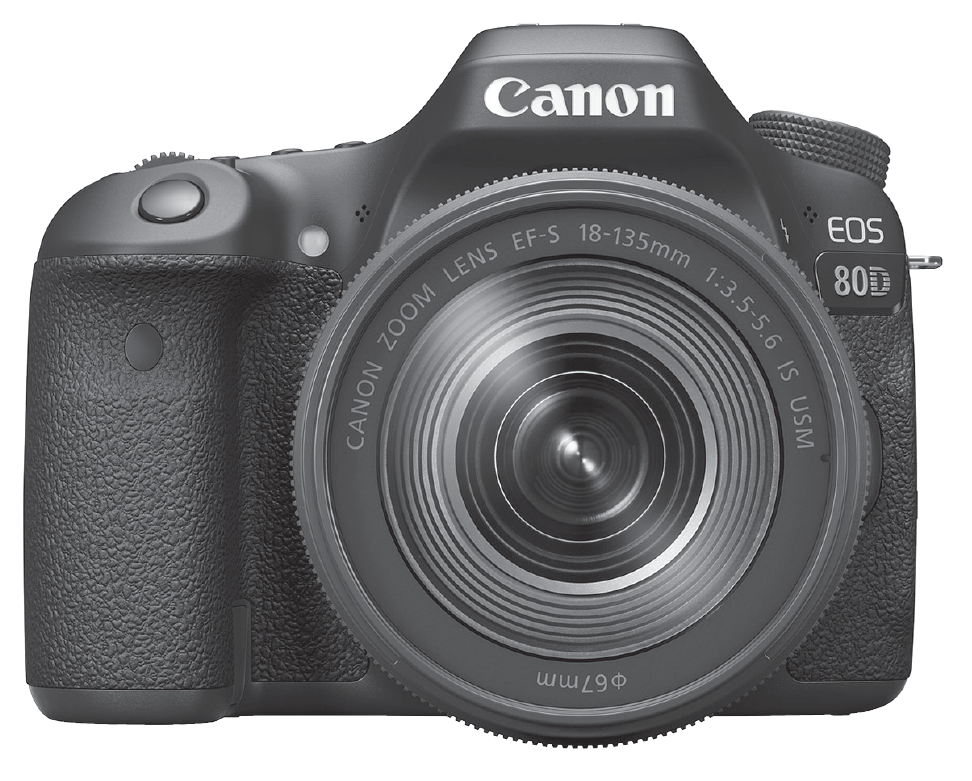 Canon EOS 80 D camera