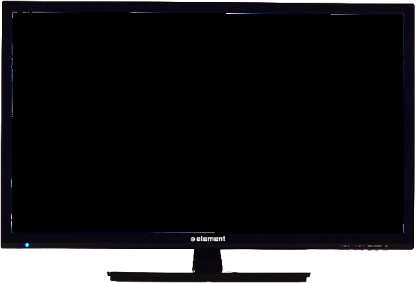Element Smart TV with a blank screen.