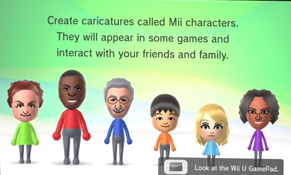Mii user selection