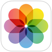 iOS photos app icon.