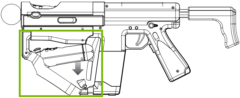 Navigation controller connecting to Sharp Shooter. Diagram