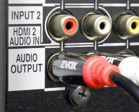 example media player audio outputs