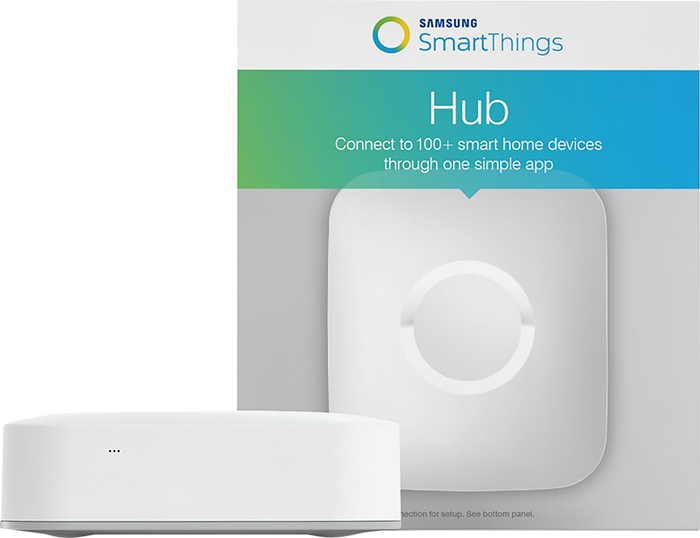 A samsung smartthings hub