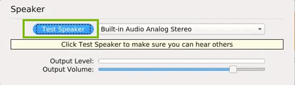 Testing speakers in Linux