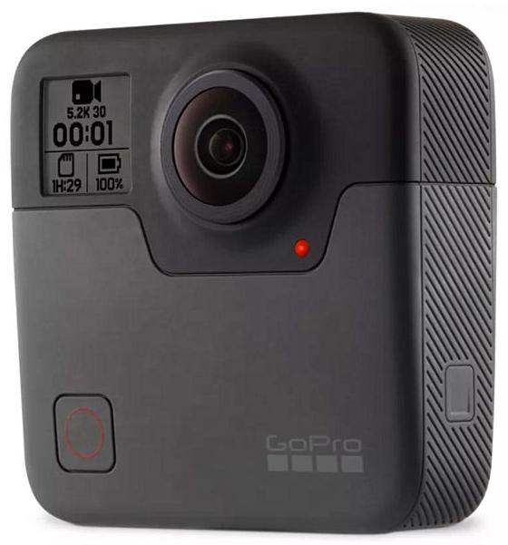 GoPro Fusion Camera.