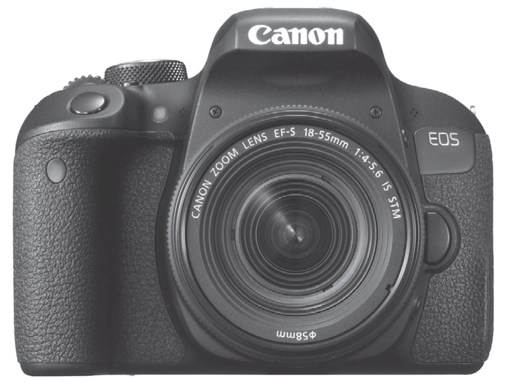 Canon Rebel T7i camera