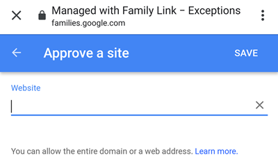 approve a site