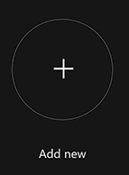 Xbox add new icon.