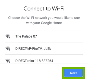 Wi-Fi network selection