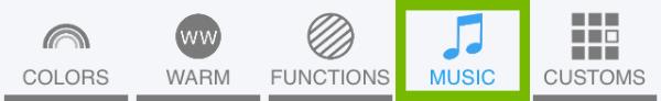 Menu button highlighted