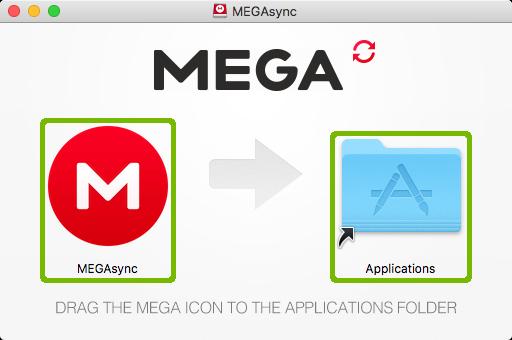 MegaSync application install.