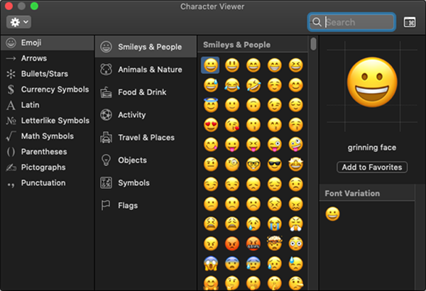 Character Viewer.