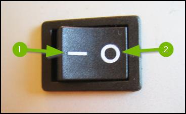 Power supply IO switch.