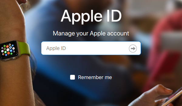 Apple ID Username Prompt.