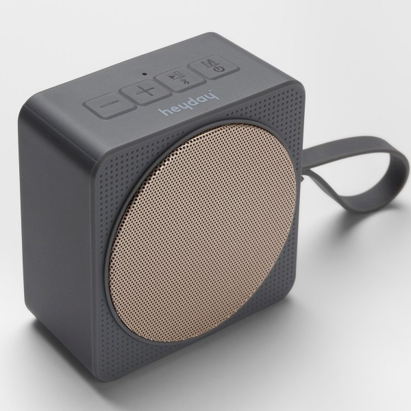 Heyday Small Portable Bluetooth Speaker with Loop.