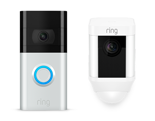 Ring Video Doorbell and Camera.