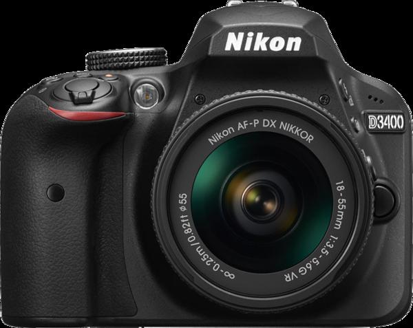 Nikon D3400 Camera.