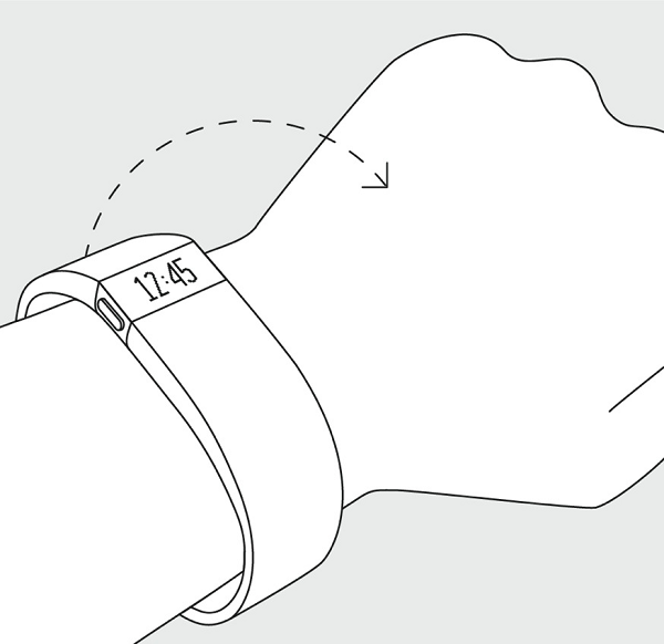 Fitbit Quick View. Illustration