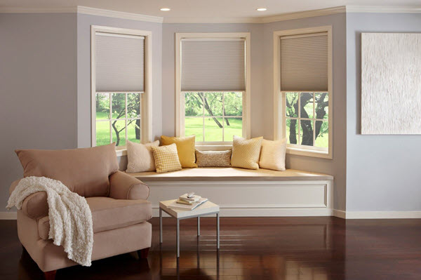 Serena Motorized Shades with Caseta by Lutron