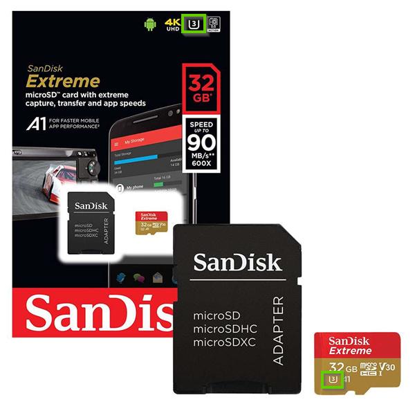 A U3 microSD Card