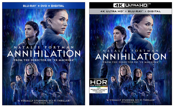 DVD, Blu-ray, and 4K movie packaging differences. Illustration.