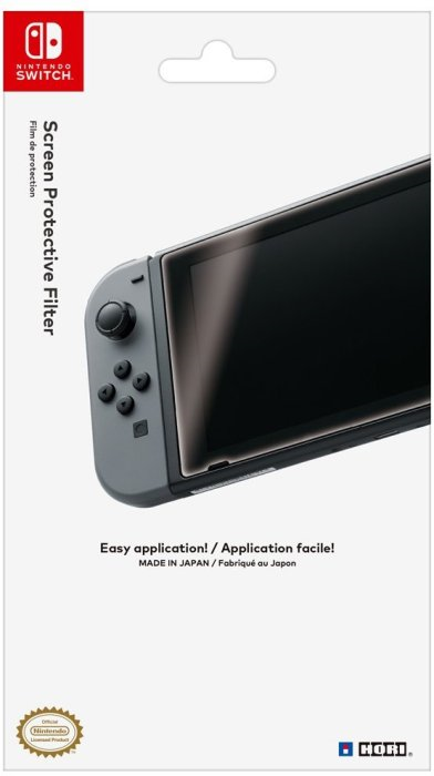 Nintendo screen protector