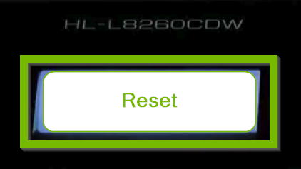 Reset button.