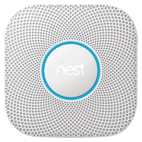 Nest Protect with glowing blue ring