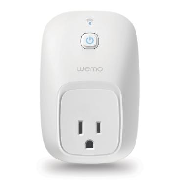 Wemo Switch Smart Plug.