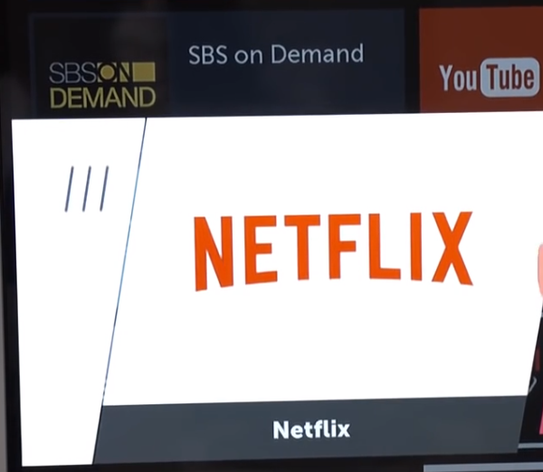 LG tv netflix app
