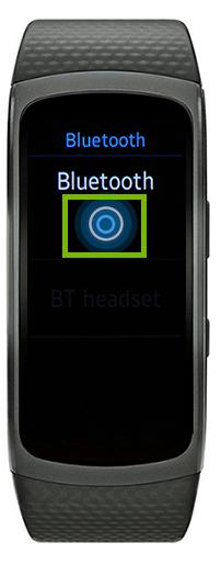 smartwatch turn on bluetooth
