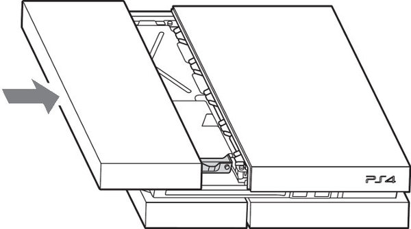Diagram showing replacing cover.