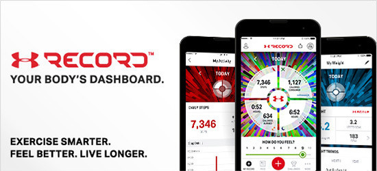 UA Record app banner.