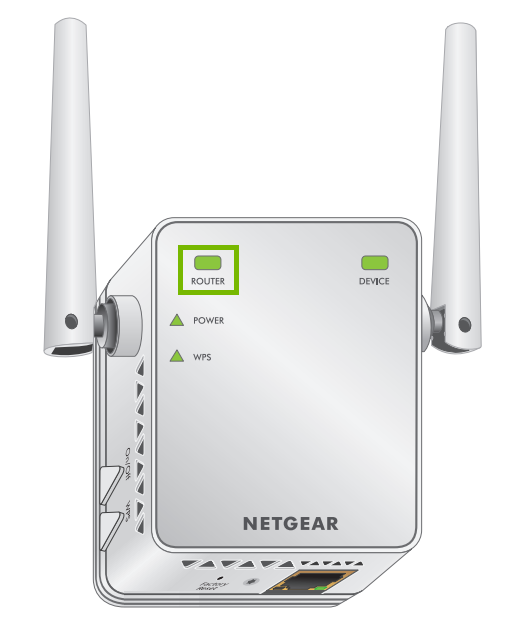 Router link indicator