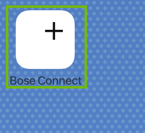 Bose Connect icon.