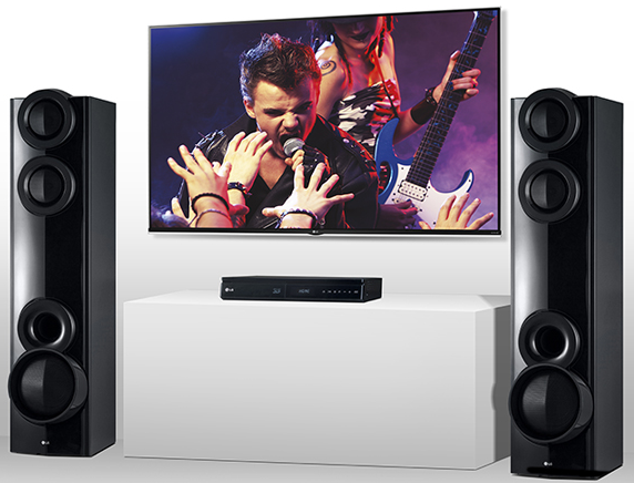 LG Blu-ray Home Theater System.
