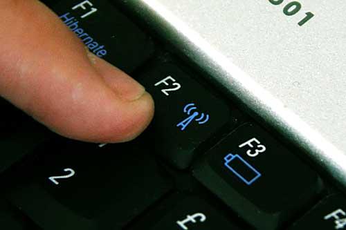 Wi-Fi Fn key.