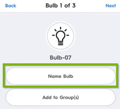 Name bulb icon.