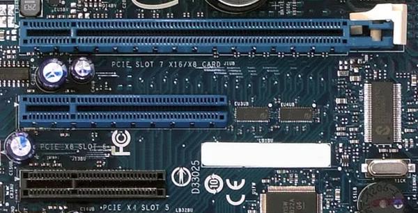 A PCI- E slot