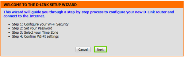 Wizard summary