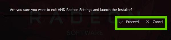 AMD Radeon confirmation