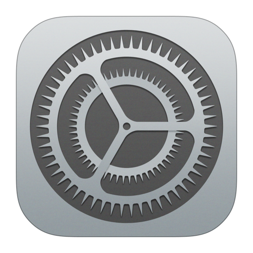 Settings icon.