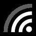 Wi-Fi symbol with 3 of 4 bars