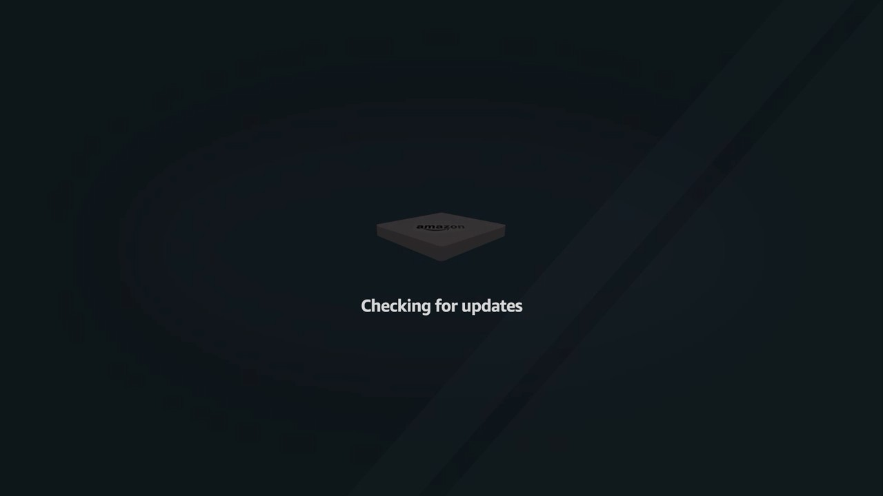 Checking for Updates screen.