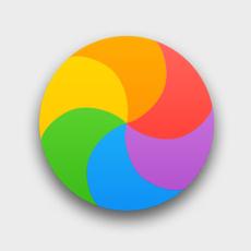 macOS spinning wait cursor.