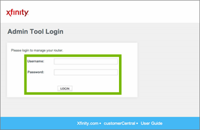 Admin tool login with Username, Password, and Logon button highlighted.