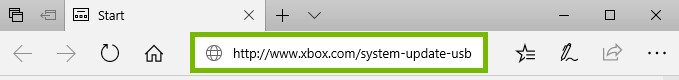 Web browser navigating to the Xbox website. Screenshot.
