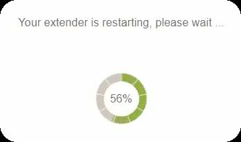 Range Extender rebooting.