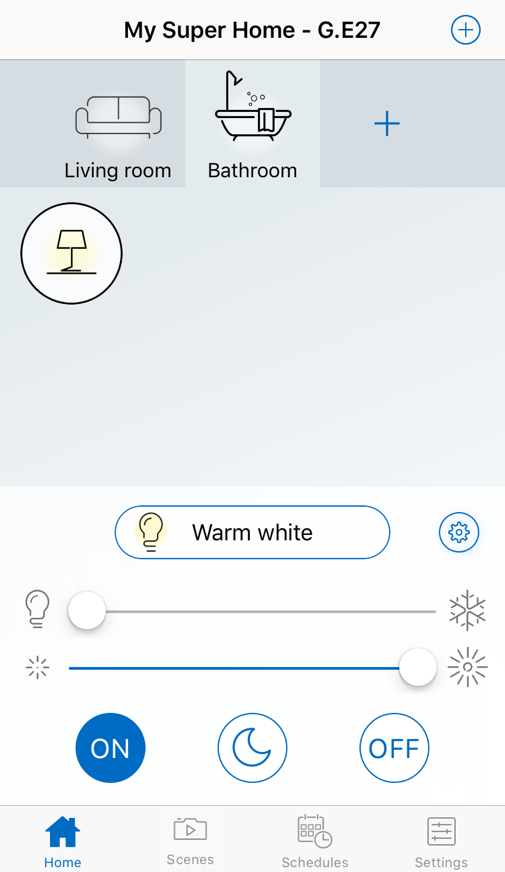New light added to the WiZ app.
